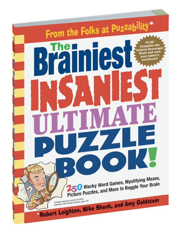 Braniest Insaniest Ultimate Puzzle Book