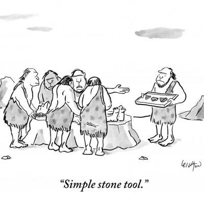 """Simple stone tool."""